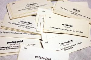 карточки для запоминания слов